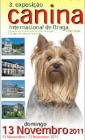 Portada de Catálogo de la Internacional de Braga 2011