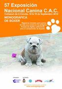 Portada del Catálogo de la 57ª Exposición Nacional Canina de Galica