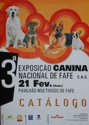 Portada del Catálogo de Fafe 2010.