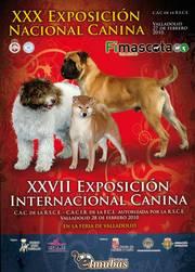 Portada del catálogo de la Nacional e Internacional de Valladolid en 2010