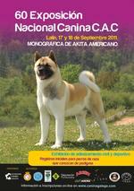 Imagen de catálogo de la Exposición Canina Nacional de Lalín de 2011