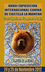 Imagen de portada de catálogo de la exposición de punto obligatorio de Talavera de la Reina en 2012