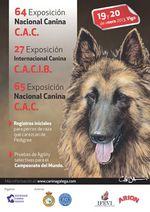 Portada de catálogo del las exposiciones caninas de galicia en 2013